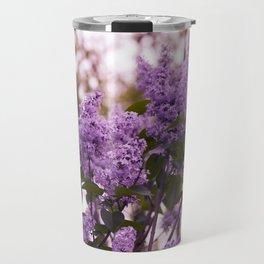 Purple lilacs Travel Mug