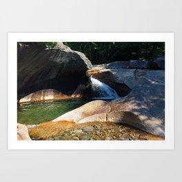 The Basin Art Print