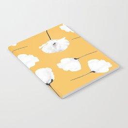 Poppies on mustard Notebook