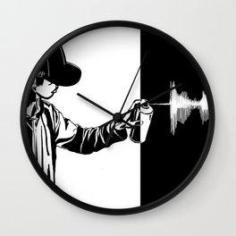 FAVEWAVEARTS Wall Clock