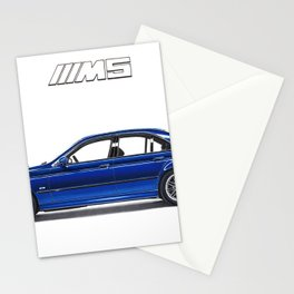ICONIC GERMAN SPORTSCAR LIMOUSINE Stationery Cards