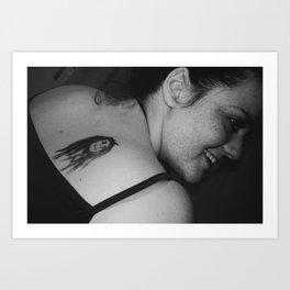 sharona Art Print