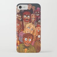 muppets iPhone & iPod Cases featuring The Muppets by Groovy Bastard