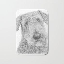 Airedale terrier Bath Mat