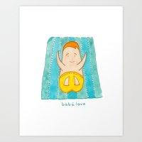 bebe love Art Print