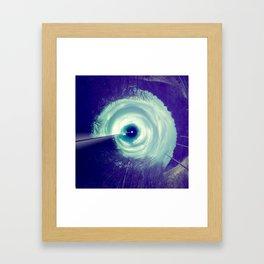 beam me up. Framed Art Print