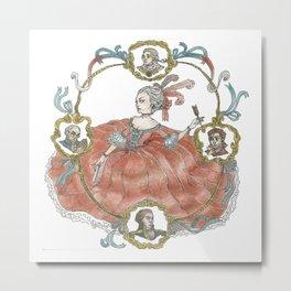 rococo romance variation#2 Metal Print
