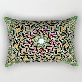 Mandala Celtic Rectangular Pillow