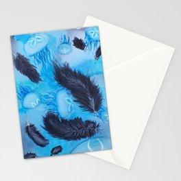 Lunar Skies Stationery Cards