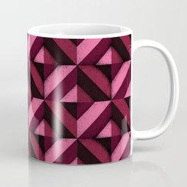 Concrete wall - Wine red Coffee Mug
