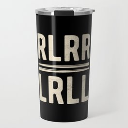 RLRR Funny Drummer Drumming Travel Mug