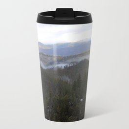 Snowy day on Highway 36 Travel Mug