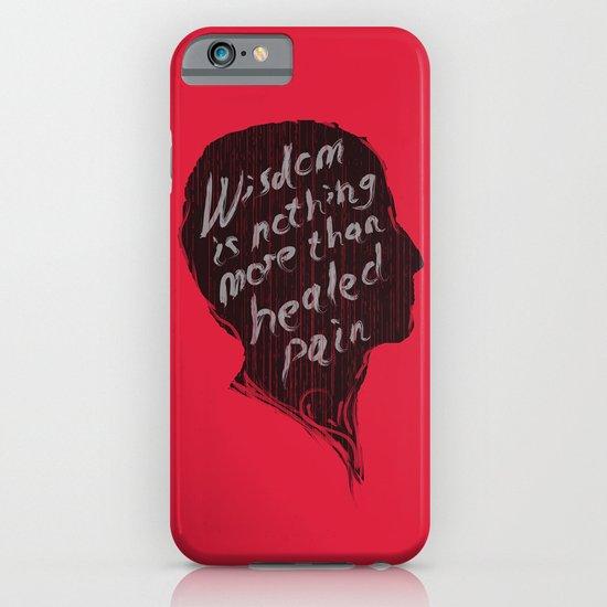 Words of wisdom iPhone & iPod Case