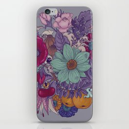 the wild side - colored iPhone Skin