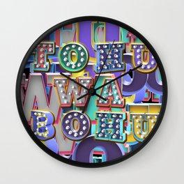 TO HU WA BO HU - Chaos Wall Clock