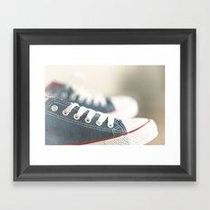 ready for walk Framed Art Print
