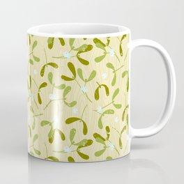 Rustic Mistletoe - Cream Coffee Mug