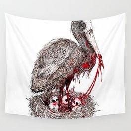 Stork Wall Tapestry
