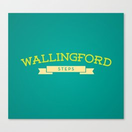Wallingford Steps Canvas Print