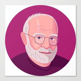 Queer Portrait - Oliver Sacks Canvas Print