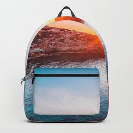 Ibiza, Spain. Backpack