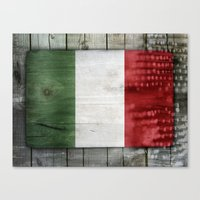 italy Canvas Prints featuring Italy by Arken25