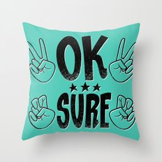 The Sarcastic Party Throw Pillow
