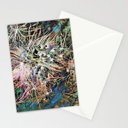 Fishing Lures Abstract PhotoArt Stationery Cards