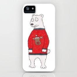 Christmas Bear iPhone Case