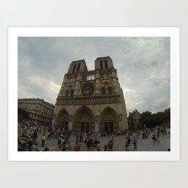 Notredame Art Print