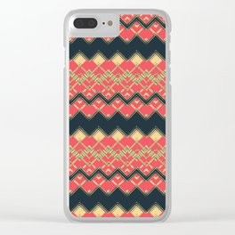Abstract / Geometric : TM17035 Clear iPhone Case