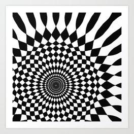 Wonderland Floor #5 Art Print