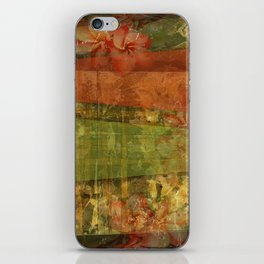"""""""Abstract 1"""" by Visionary Artist Carolyn Quan iPhone Skin"""