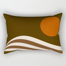 Swell - Cocoa Stripes Rectangular Pillow