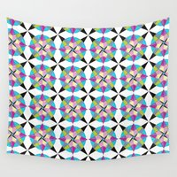 morocco Wall Tapestries featuring MOROCCO STARS by Heaven7