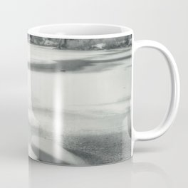 Cold as Ice frozen Castle Lake in California Coffee Mug