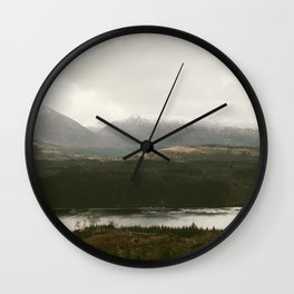 Vintage Mountain 27 Wall Clock