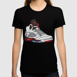 jordan 5 - fire reds T-shirt