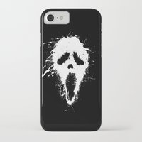 scream iPhone & iPod Cases featuring Scream by DanielBergerDesign
