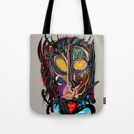 Heart is Art inspired by the music of Thomas Dolby Tote Bag