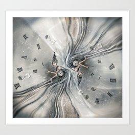 Oracle of Kronos Art Print