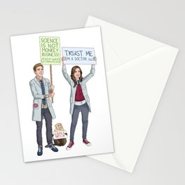 Fitzsimmons - Science March Stationery Cards