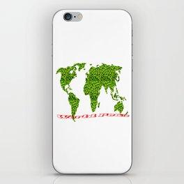 world peas iPhone Skin