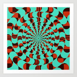The Rabbit Hole Art Print