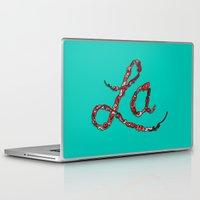 la Laptop & iPad Skins featuring LA by Chris Piascik