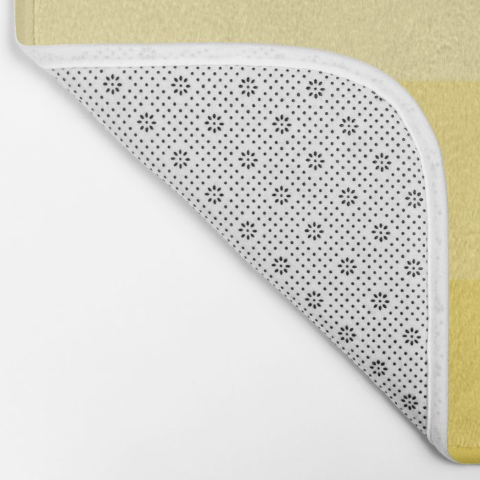 Four Shades of Yellow Bath Mat