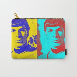 Science Officer Spock (Andy Warhol Remix) Carry-All Pouch