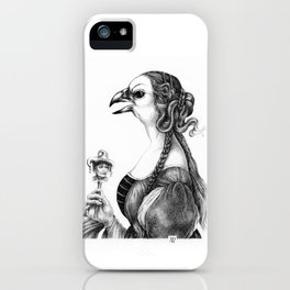Tête-à-tête with Botticelli iPhone Case