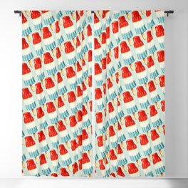 USA 4th of July Popsicle Pattern Blackout Curtain