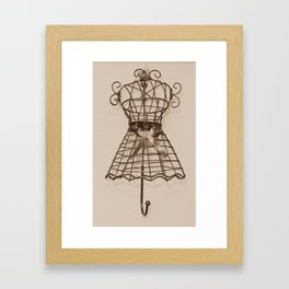 be fashionable Framed Art Print
